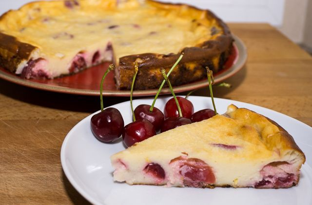 Cherry Cheese Cake sin cobertura